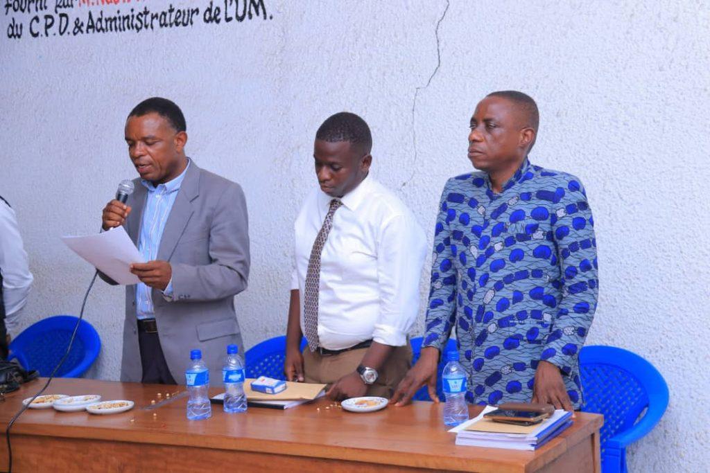 Jury à l'Université de Mbujimayi