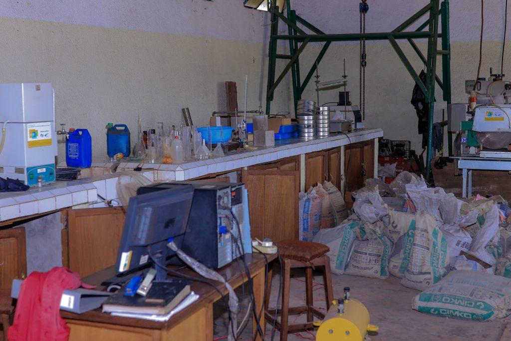 Laboratoire Géotechnique